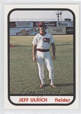 1981 TCMA Minor League #1001 - Jeffery Ulrich