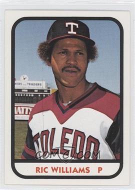 1981 TCMA Minor League #1011 - Ric Williams