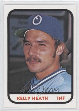 1981 TCMA Minor League #1040 - Kelly Heath