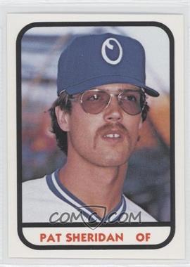 1981 TCMA Minor League #1047 - Pat Sheridan