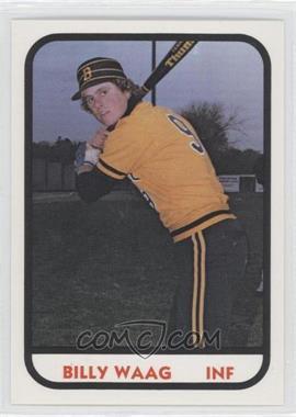 1981 TCMA Minor League #1061 - Billy Waag