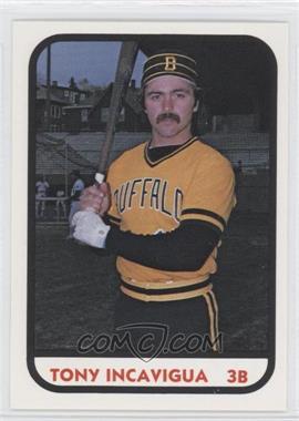 1981 TCMA Minor League #1067 - Tony Incavigua