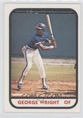 1981 TCMA Minor League #1151 - George Wright