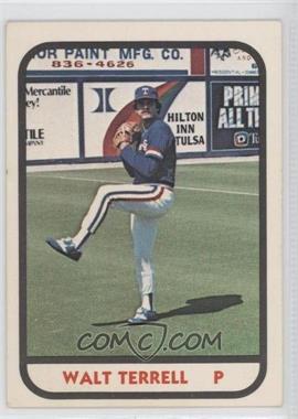 1981 TCMA Minor League #1161 - Walt Terrell