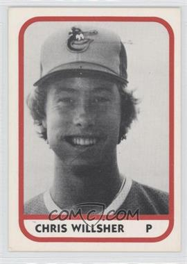 1981 TCMA Minor League #1166 - Chris Willsher
