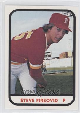 1981 TCMA Minor League #12 - Steve Fireovid