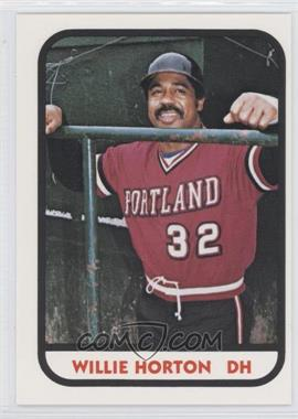 1981 TCMA Minor League #12 - Willie Horton