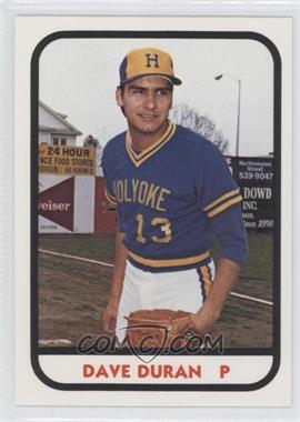 1981 TCMA Minor League #14 - Dan Duran