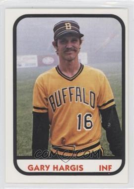 1981 TCMA Minor League #15 - Gary Hargis