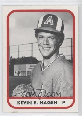 1981 TCMA Minor League #16 - Kevin Hagen