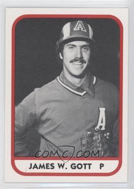 1981 TCMA Minor League #17 - James W. Gott