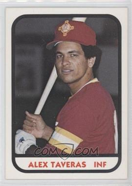 1981 TCMA Minor League #18 - Alex Taveras
