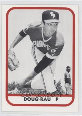 1981 TCMA Minor League #188 - Doug Rau