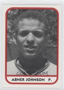 1981 TCMA Minor League #19 - Abner Johnson