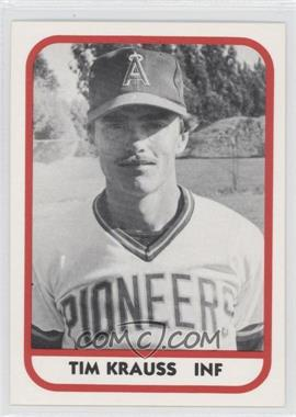 1981 TCMA Minor League #196 - Timothy Krauss