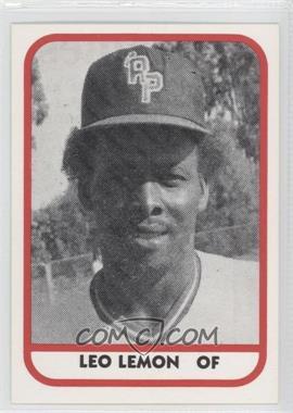 1981 TCMA Minor League #198 - Leo Lemon