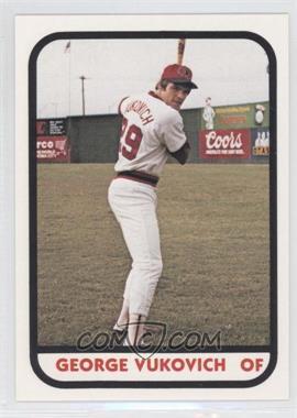 1981 TCMA Minor League #20 - George Vukovich