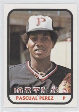 1981 TCMA Minor League #20 - Pascual Perez