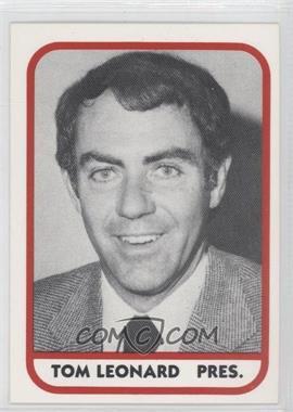 1981 TCMA Minor League #203 - Tom Leonard