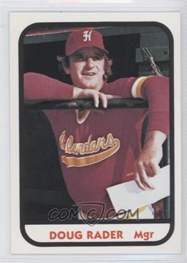 1981 TCMA Minor League #21 - Doug Rau