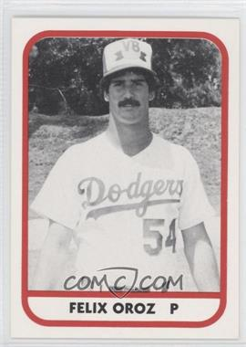 1981 TCMA Minor League #223 - Felix Oroz