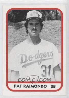 1981 TCMA Minor League #225 - Pat Raimondo