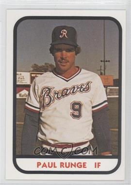 1981 TCMA Minor League #235 - Paul Runge