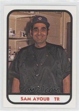 1981 TCMA Minor League #25 - Sam Ayoub