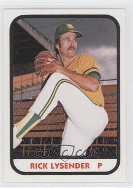 1981 TCMA Minor League #273 - Rick Lysender