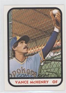 1981 TCMA Minor League #298 - Vance McHenry