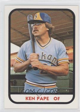 1981 TCMA Minor League #299 - Ken Pape