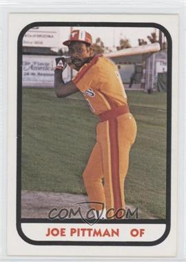 1981 TCMA Minor League #3 - Joe Pittman