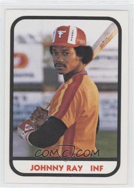 1981 TCMA Minor League #314 - Johnny Ray