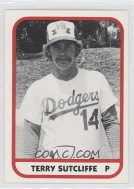 1981 TCMA Minor League #320 - Terry Sutcliffe