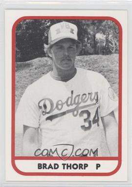 1981 TCMA Minor League #322 - Brad Thorp