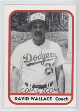 1981 TCMA Minor League #325 - David Wallace