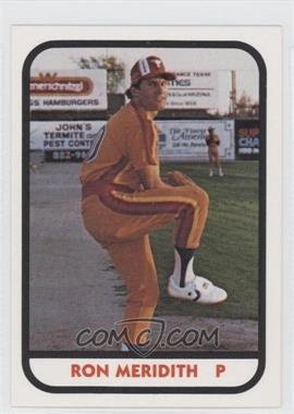 1981 TCMA Minor League #365 - Roger Metzger