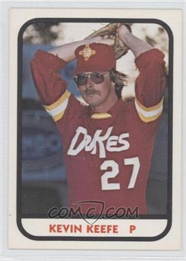 1981 TCMA Minor League #436 - Kevin Keefe