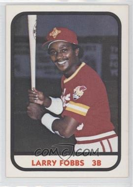 1981 TCMA Minor League #440 - Larry Fobbs