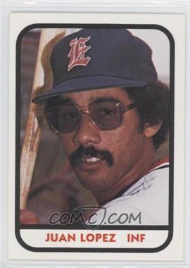 1981 TCMA Minor League #467 - Juan Lopez