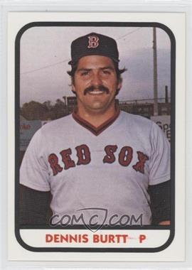 1981 TCMA Minor League #493 - Dennis Burtt