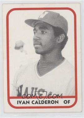 1981 TCMA Minor League #558 - Ivan Calderon
