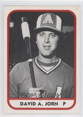 1981 TCMA Minor League #63 - David Jorn