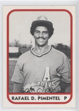 1981 TCMA Minor League #64 - Rafael Pimentel