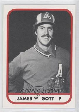 1981 TCMA Minor League #68 - James W. Gott