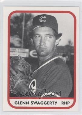 1981 TCMA Minor League #697 - Glenn Swaggerty