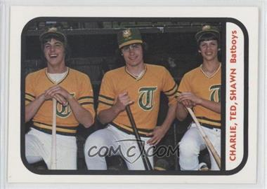 1981 TCMA Minor League #704 - Bat Boys