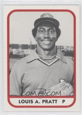1981 TCMA Minor League #71 - Louis A. Pratt