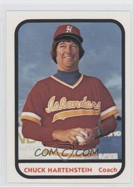 1981 TCMA Minor League #783 - Chuck Hartenstein