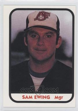 1981 TCMA Minor League #848 - Sam Ewing